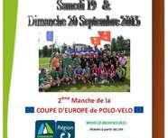 2ème manche de Coupe d'Europe de POLO-VELO 2015